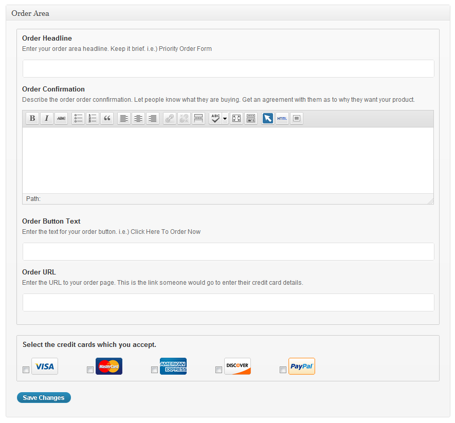 Wordpress Sales Letter Wp Sales Letter Plugin